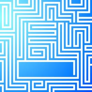 maze-bright-light-blue-background